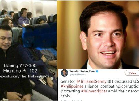 US Senator who accused of toppling Venezuelan government met with Sen. Antonio Trillanes IV
