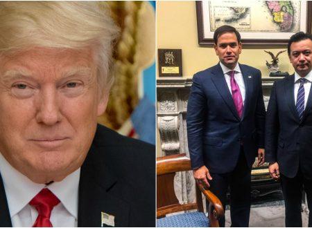 U.S President Donald Trump reportedly calls Sen. Trillanes a 'lil narco'