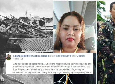 LOOK: Marawi soldier widow calls out ABS-CBN reporter for misinterpreting her answers during their interview