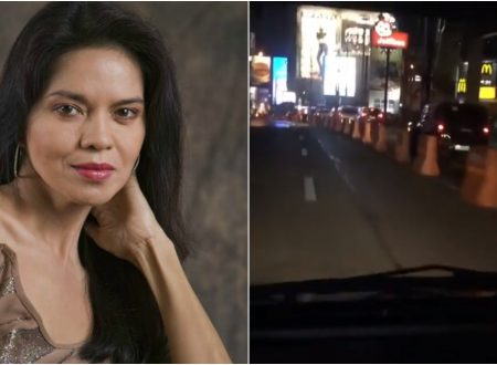 Actress Maria Isabel Lopez' driver's license might get revoke for 'ASEAN lane breach'