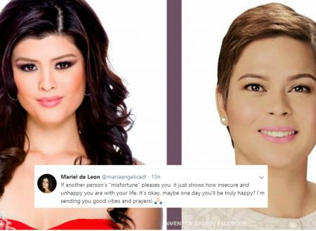 """Mariel De Leon alludes a person who's happy with her defeat: """"It just shows how insecure you are with your life,"""""""