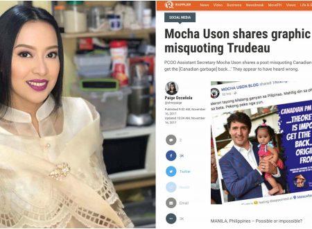 "Mocha Uson slams Rappler for another article written against her: ""Nagpapakalat ng fake news o gumaganti?"""