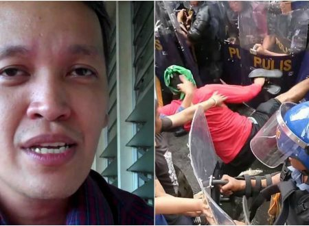 PNP to file case against Renato Reyes, 2 others over violent anti-Trump rally
