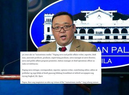 40 years journo who supports Duterte slams Roque:  Ikaw ang magtuturo sakin ng values ng 'mainstream media?' yabang mo naman
