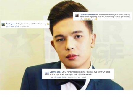 BREAKING: Xander Ford is missing, Netizens start to mock the artist instead of showing concerns
