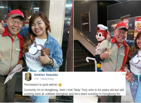 Meet Tatay Tony, the 64 year-old Filipino fast food crew in Hong Kong