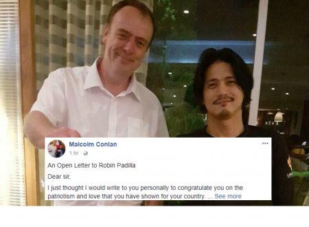 Englishman writes open letter to Robin Padilla, explains why the the Korean PGT contestant should learn Filipino language