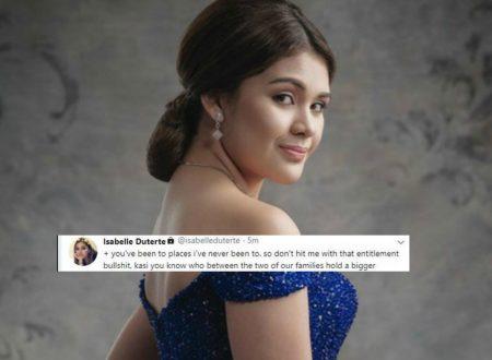 """Isabelle Duterte threatens SAP Bong Go's son: """"Stop bashing me or else ilalabas ko ang baho ng pamilya mo!"""""""