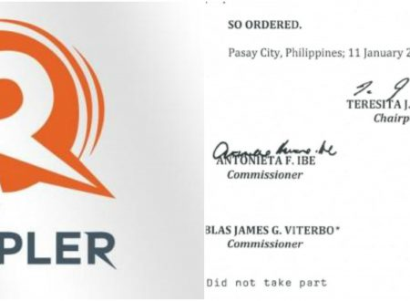 3 out of 4 SEC commissioner signed the decision over Rappler are Aquino appointees