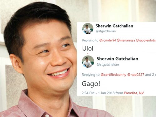 Sen. Win Gatchalian curses Netizens for uncovering his pro-Aquino tweets
