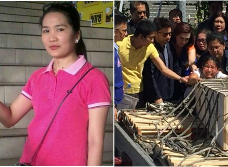 LOOK: Kuwait-based OFW Joanna Demafelis' body arrived at NAIA
