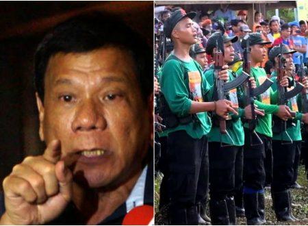 Duterte to give 25,000 reward to those who can kill one member of NPA terrorist