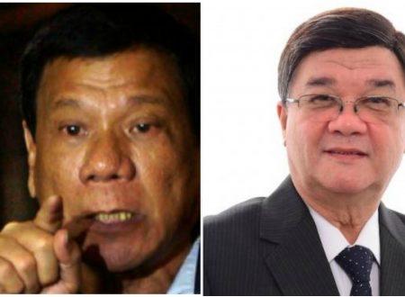 President Rodrigo Duterte confirms DOJ Secretary Aguirre resignation