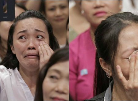 LOOK: Some OFWs went emotional after they see President Duterte during his visit Hong Kong visit
