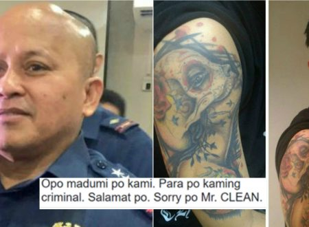 Hashtag Nikko calls out Bato for not allowing policemen to have tattoos: Edi kayo na malinis!