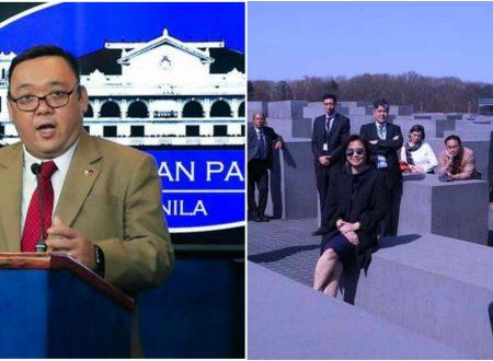Palace reacts to Robredo's Holocaust memorial photo: Ano ang pumasok sa utak niya?