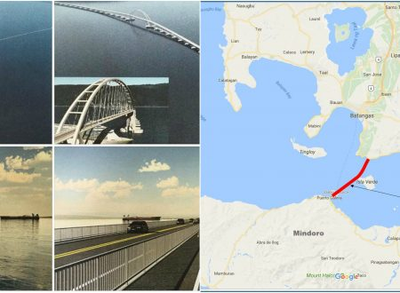 """Tatak Duterte!"" DPWH announce the construction of Gigantic Super Floating Bridge from Batangas to Mindor"