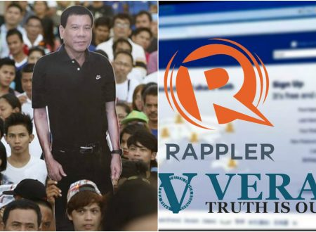 Malacañang urges Duterte supporters to protest against the decision of Facebook to make Rappler as fact checker