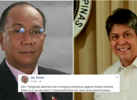 Jay Sonza slams Kiko Pangilinan: Kaya ka na kick out sa frat niyo eh!