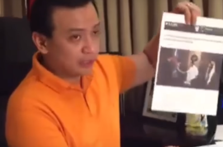 Trillanes shows evidence that Duterte knows the Boracay Casino plan