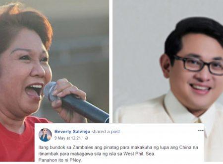 Actress slams Bam Aquino: Sukdulan ang kapal ng mukha mo para sisihin si President Duterte sa ginawa ng China!