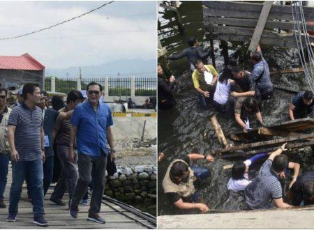 Infamous collapsed wooden bridge in Zamboanga City costs 12 million pesos