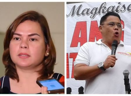 """Inday Sara wants Anakpawis rep. Ariel Casilao's expulsion in Congress for being representative of """"terrorists"""""""