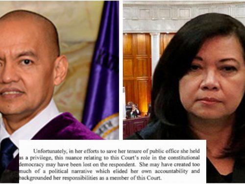 Leonen criticizes Sereno: She should not be the first to cause public shame of her colleagues