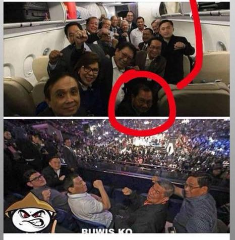 """Manny Pinol upset over viral photo claiming that he watched Pacquiao fight in Malaysia: """"This was fakery at its worse!"""""""