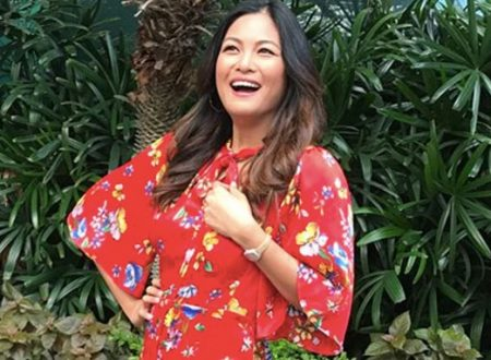 Miriam Quiambao, 43, is pregnant