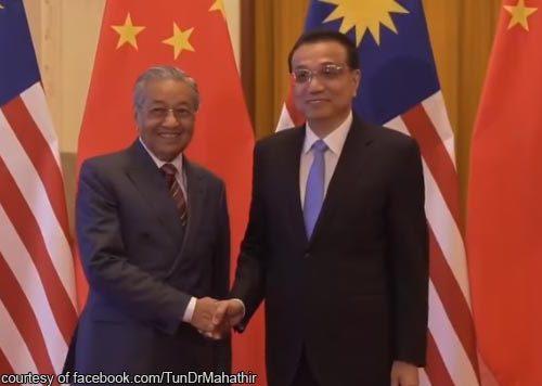 Malaysia's China debt crisis: Mahathir calls Xi Jinping's help with fiscal problems