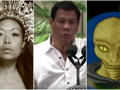 Marlene Aguilar claims that Duterte is already dead and the current President is a 'reptilian alien impostor'